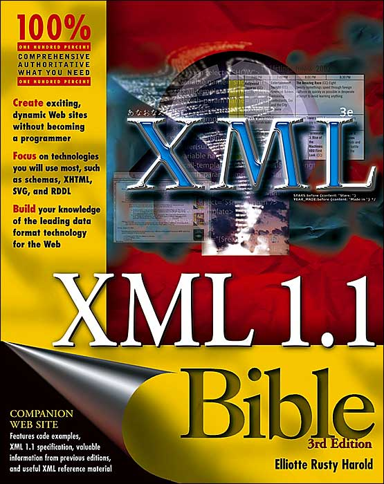 Book Cover Layout Xml : The xml bible