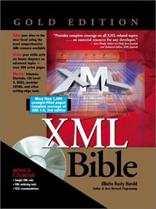 Cover of the XML Bible, Gold Edition