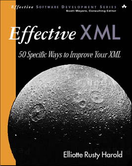 Effective XML cover design with moon